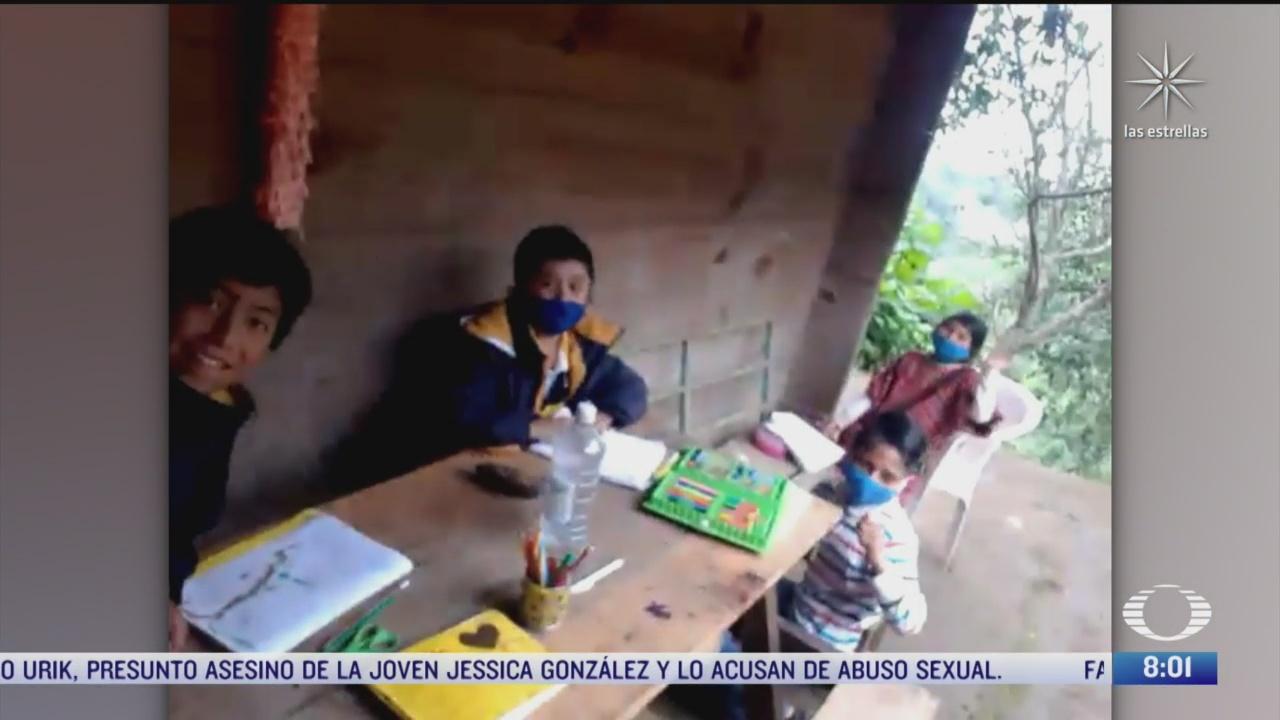 maestro triqui adapta su casa para ninos de la sierra de oaxaca