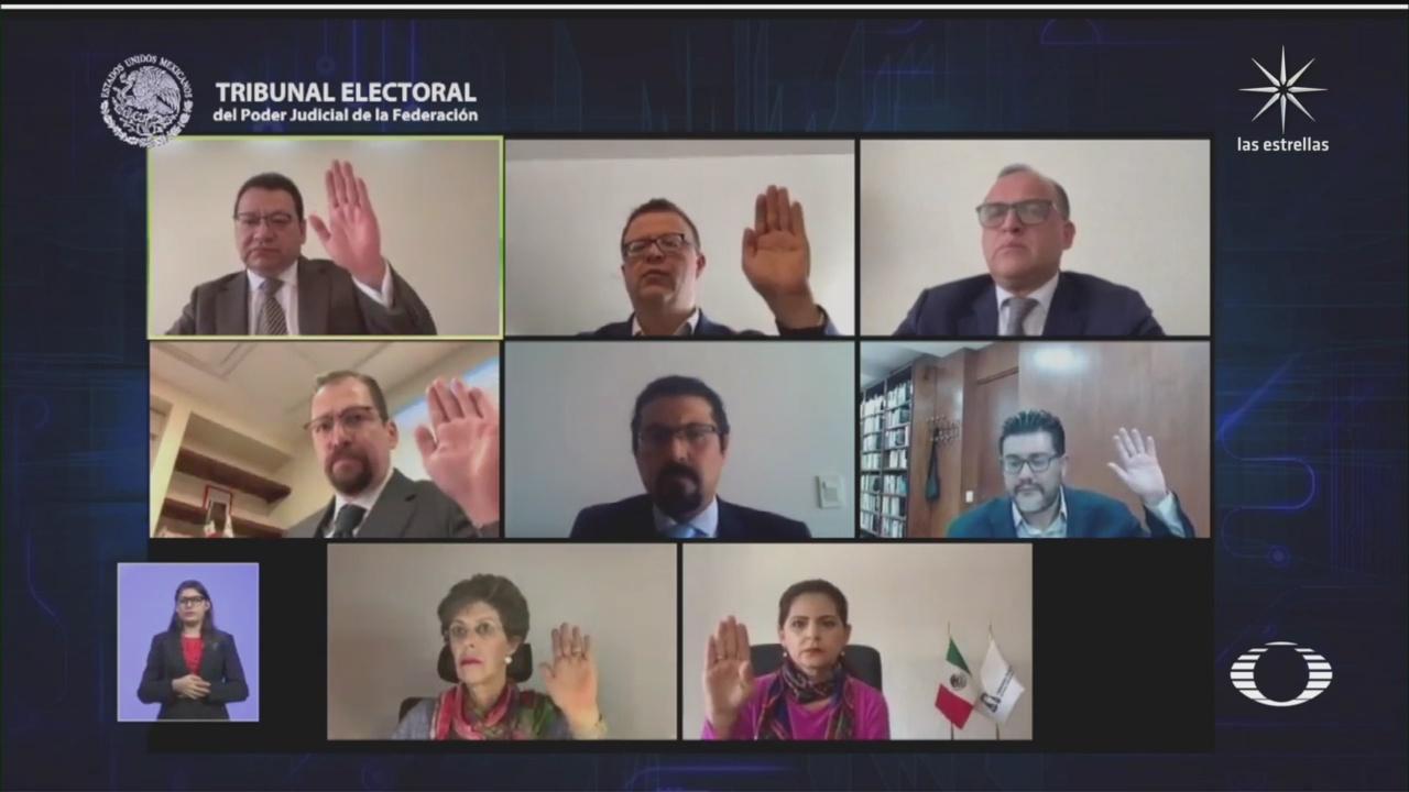 magistrado de tribunal electoral presentara proyecto de apelacion de mexico libre