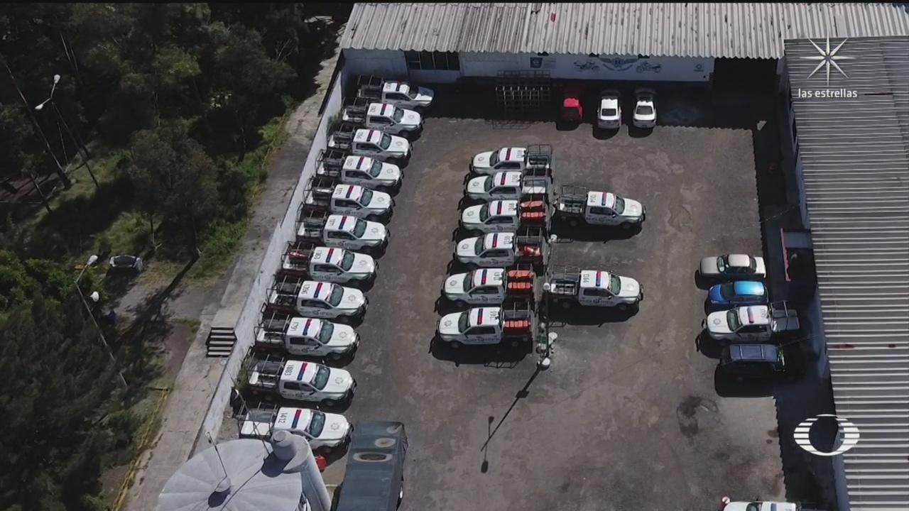 Guardadas, más de 200 patrullas nuevas de SSP Puebla desde hace 10 meses