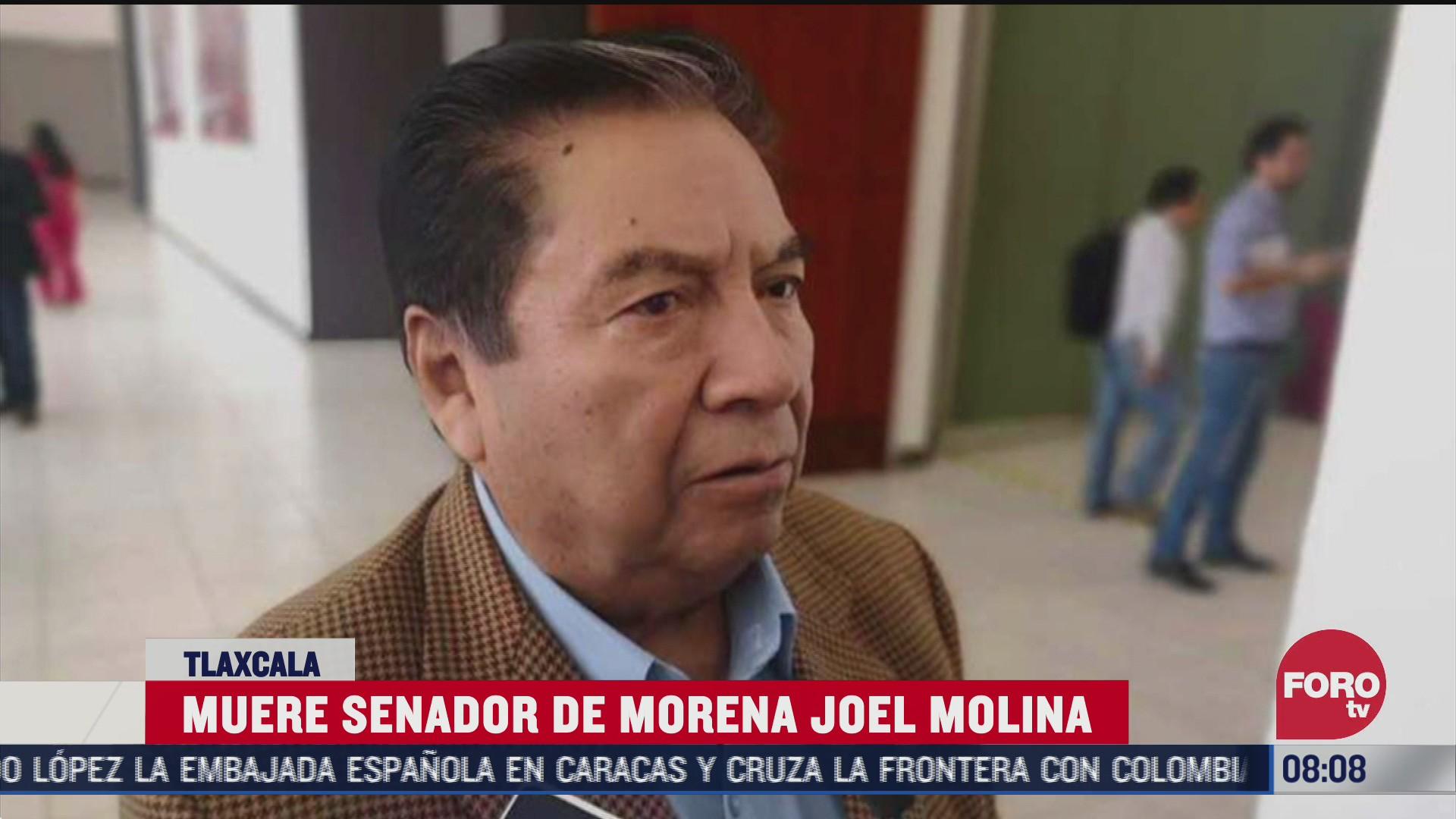 muere senador joel molina ramirez por covid