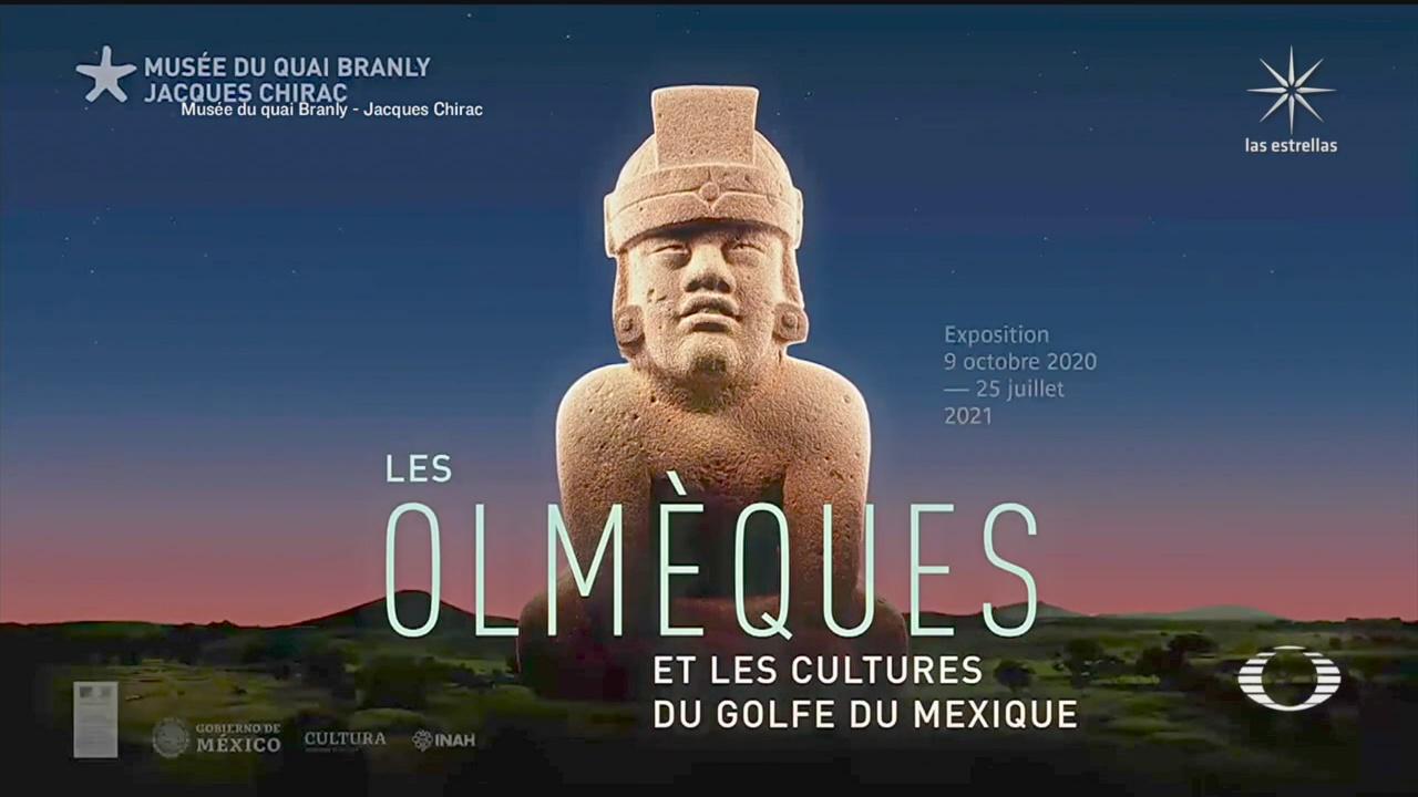 museo en francia reabre muestra los olmecas y las culturas del golfo de mexico