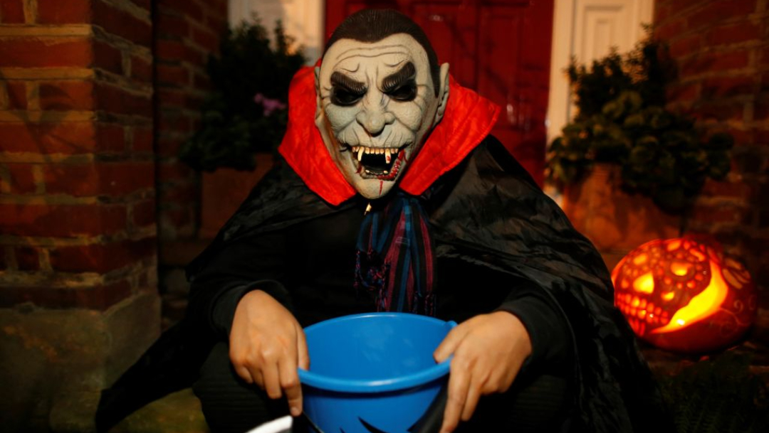 oigen del disfraz de halloween
