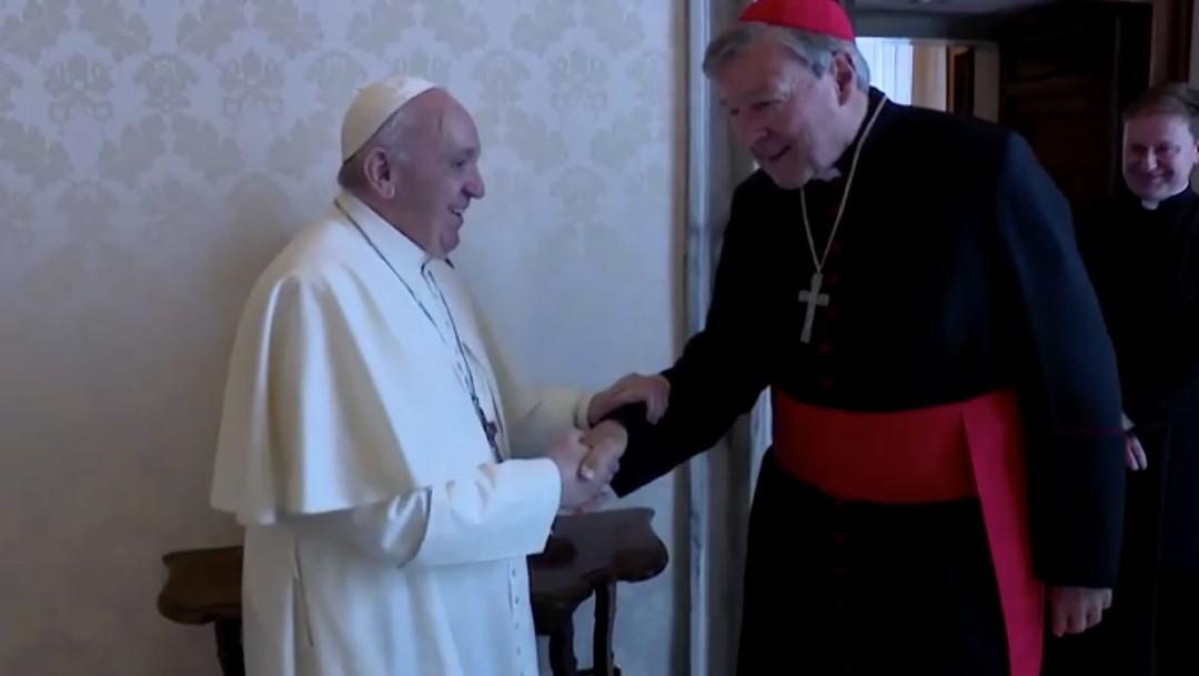 El papa Francisco recibe al cardenal Pell tras ser absuelto por delitos de pederastia