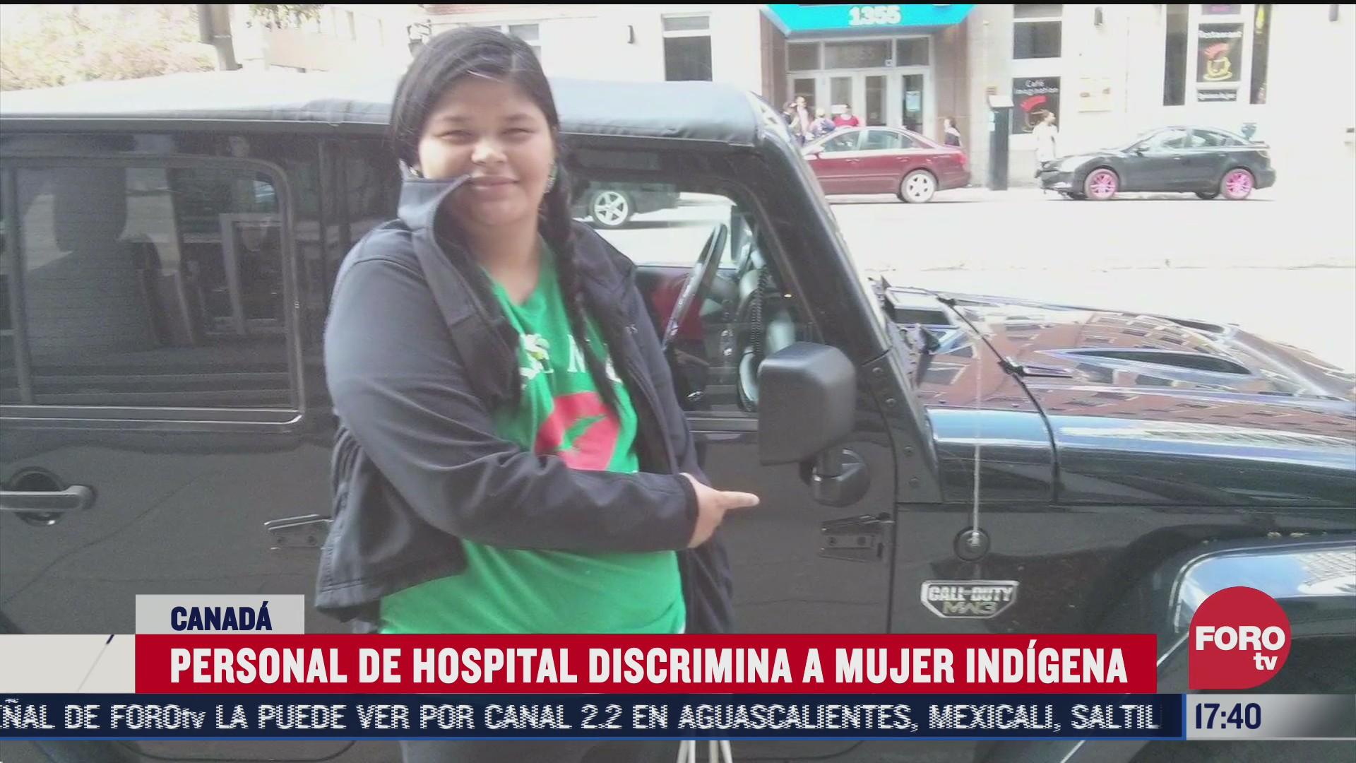 personal de hospital discrimina a mujer indigena
