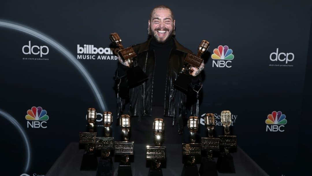 Post Malone el máximo ganador de los Premios Billboard