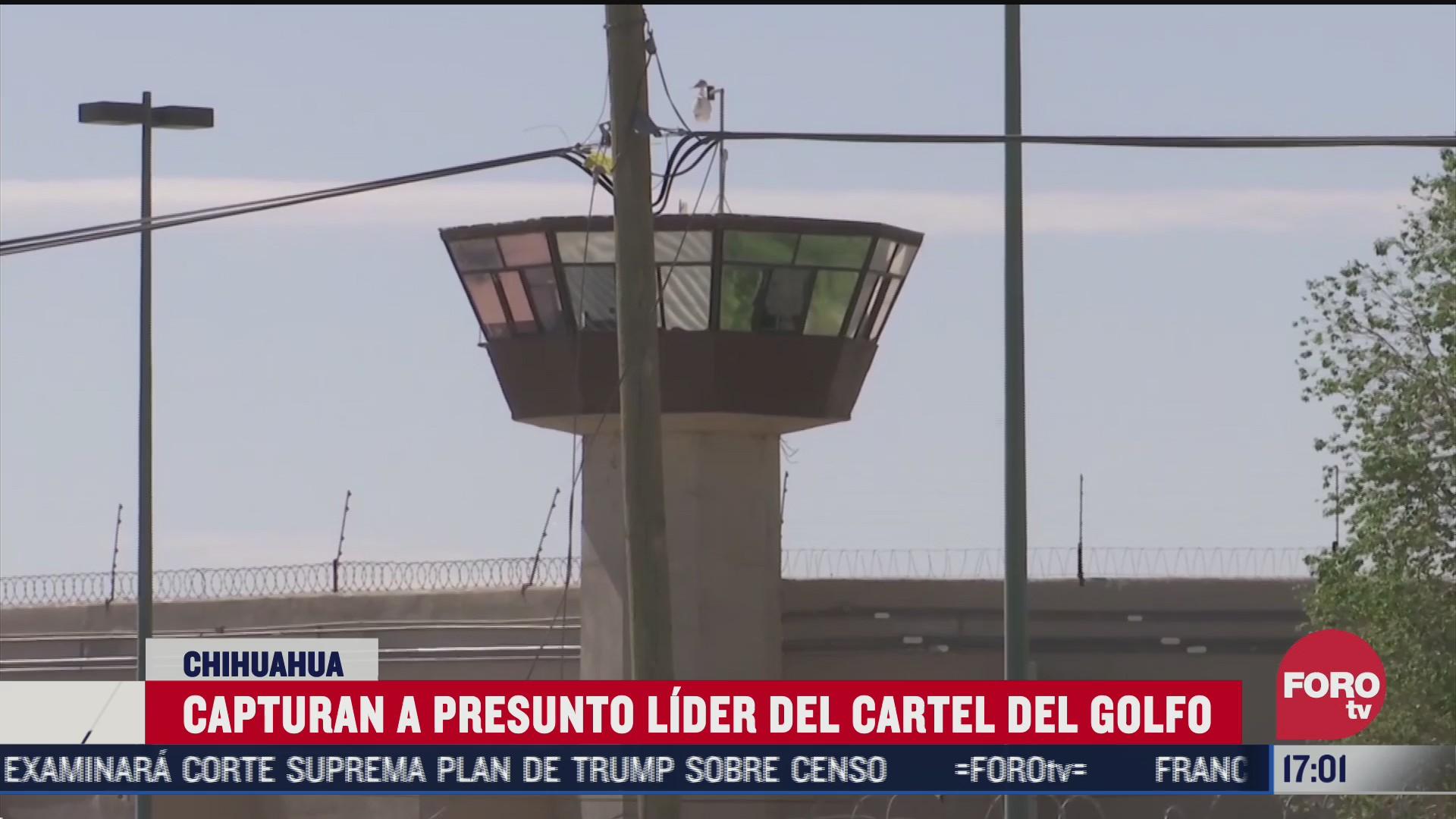 presunto lider del cartel del golfo es detenido en tamaulipas