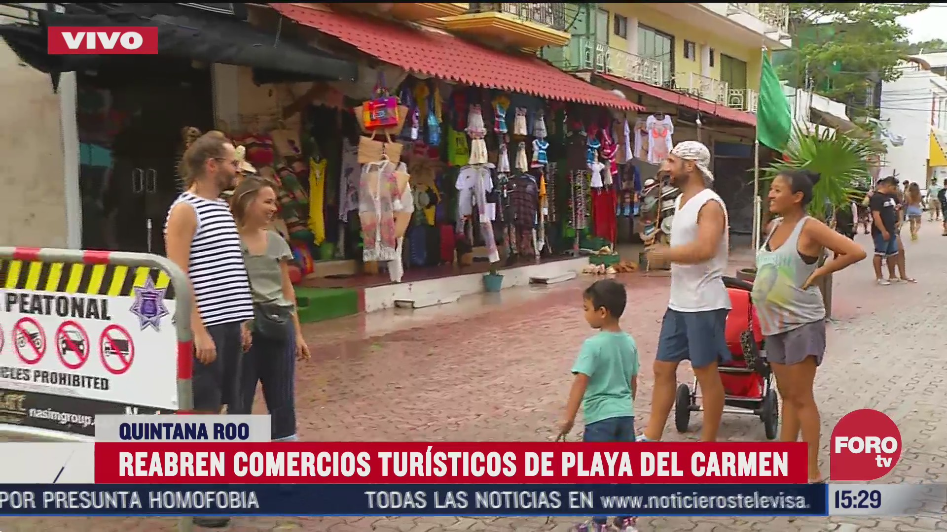 reabren comercios turisticos de playa del carmen tras huracan delta
