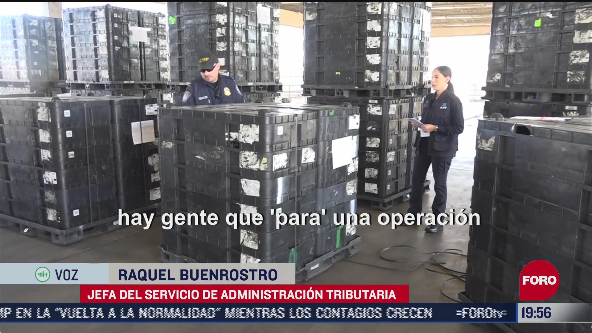 sat pide apoyo de la marina por contrabando en aduanas