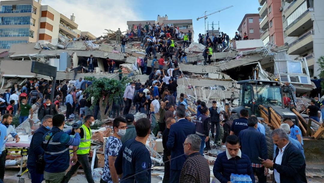 Sismo en Turquía deja cuatro muertos y cientos de heridos