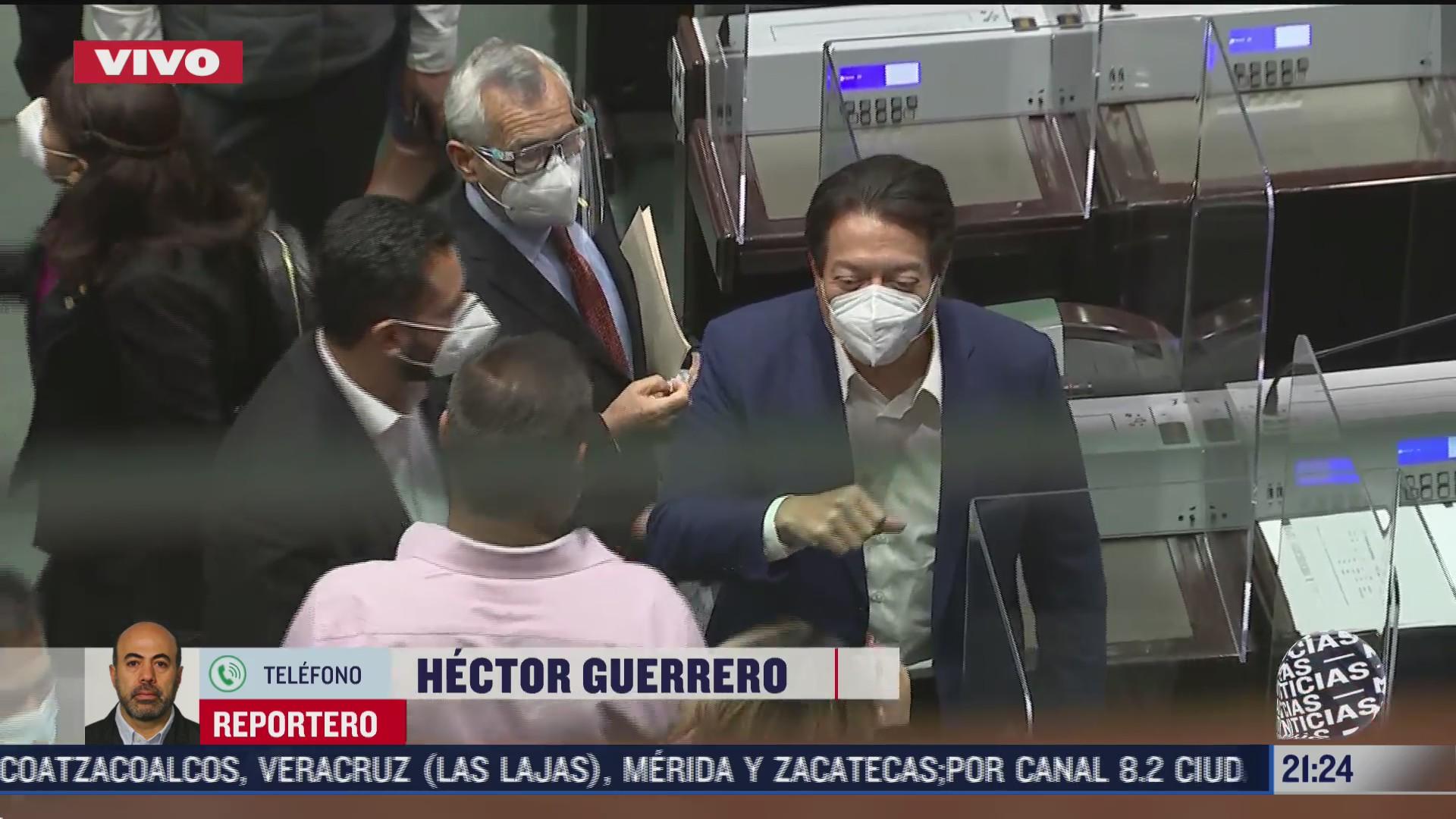 suspenden sesion en la camara de diputados por falta de quorum