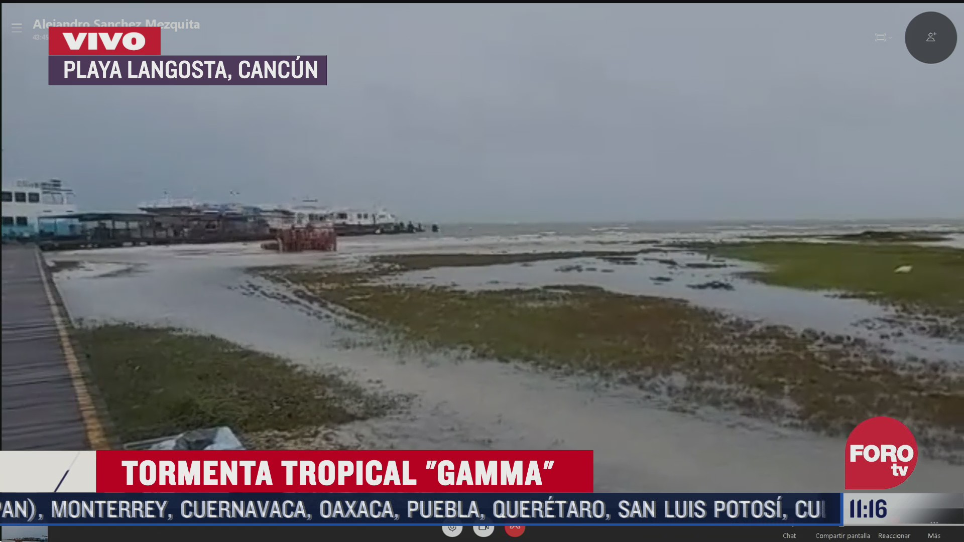 tormenta tropical gamma impactara en las proximas horas tulum quintana roo