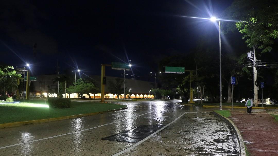 Vientos del huracán 'Delta' causan lluvias en Quintana Roo, Yucatán, Campeche y Tabasco