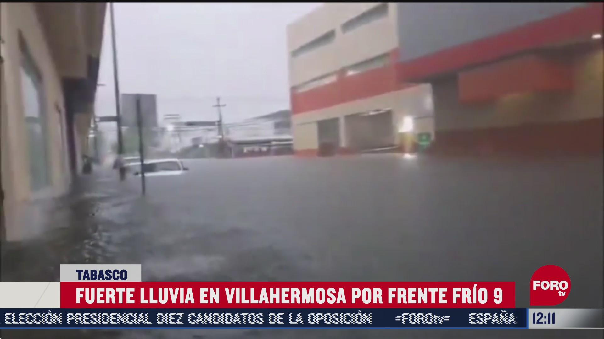 villahermosa tabaco sufre de inundaciones