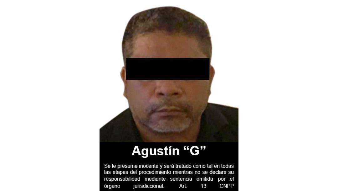 Un juez federal vinculó a proceso a Agustín 'G', presunto operador del CJNG