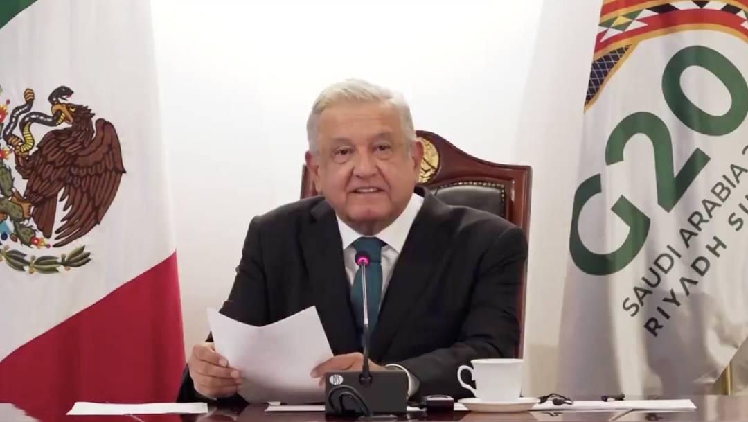 El presidente López Obrador envió su segundo mensaje a los líderes del G-20