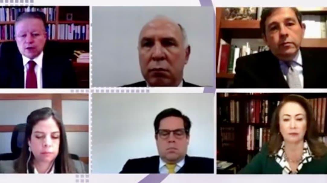 Arturo Zaldívar participa en encuentro con jueces de América Latina