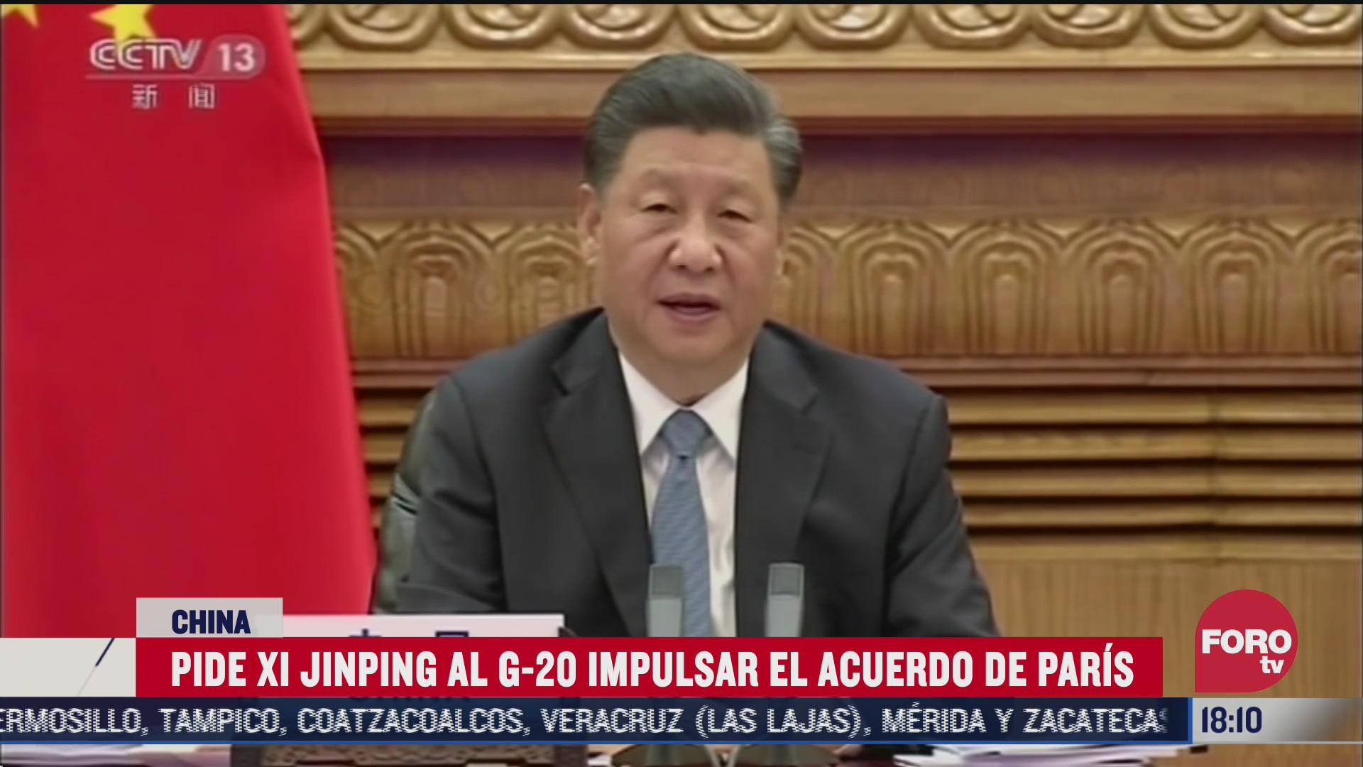 china pide aplicar acuerdo de paris