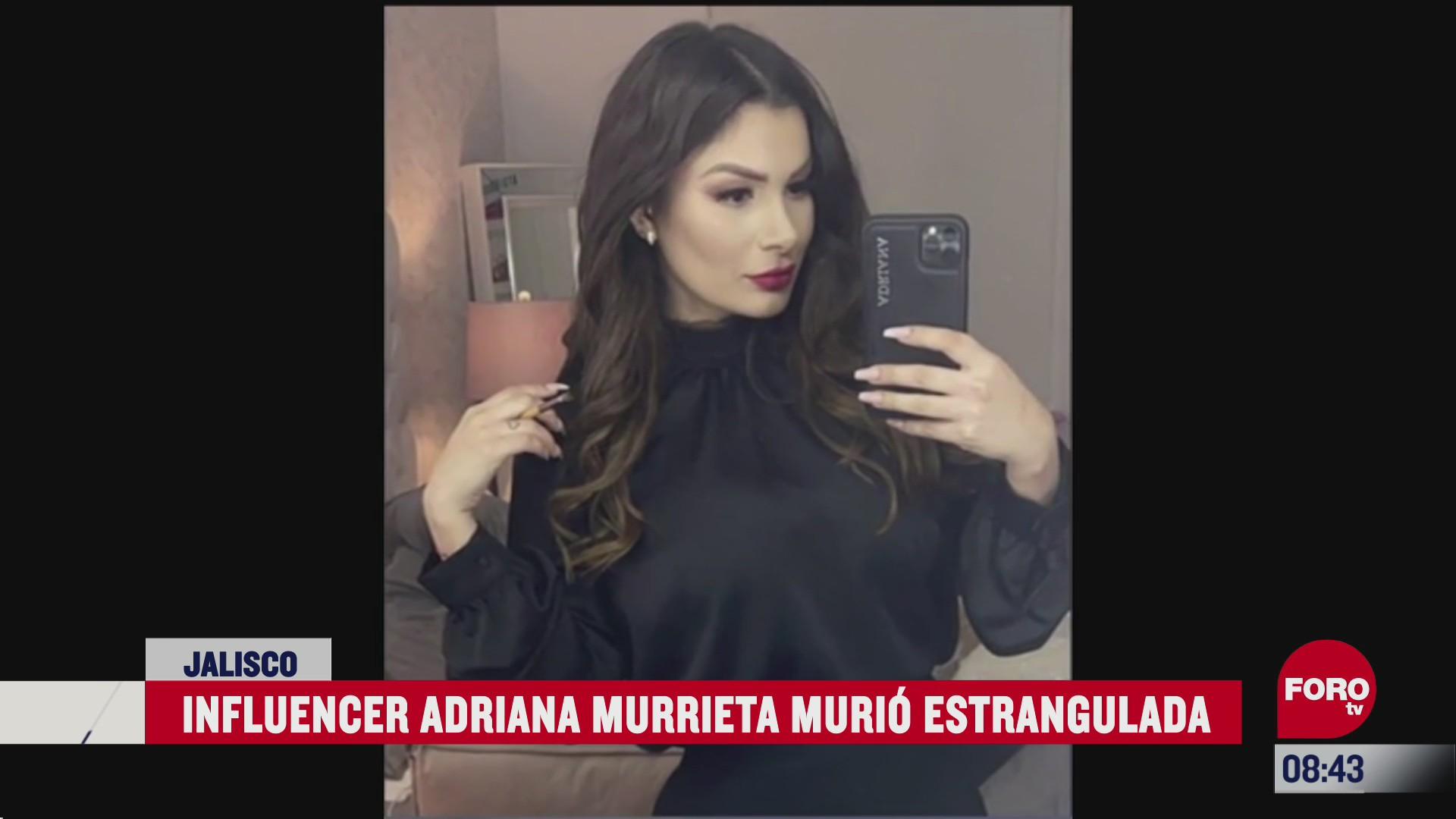 confirman que influencer adriana murrieta murio estrangulada