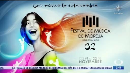 despierta con cultura el festival de musica de morelia