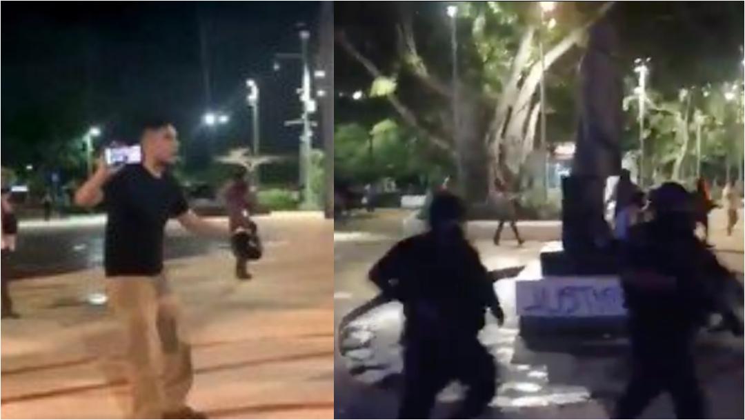 Video: Golpean a maestro de Alexis, pedía justicia su alumna