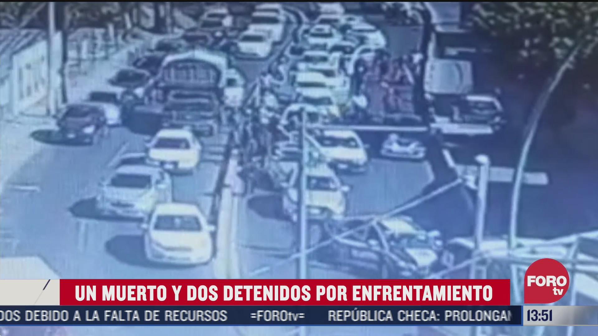 enfrentamiento entre taxistas y policias de ecatepec deja un muerto