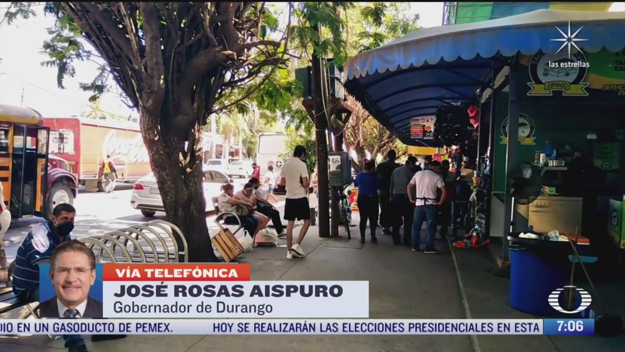 entrevista con jose rosas aispuro gobernador de durango para despierta