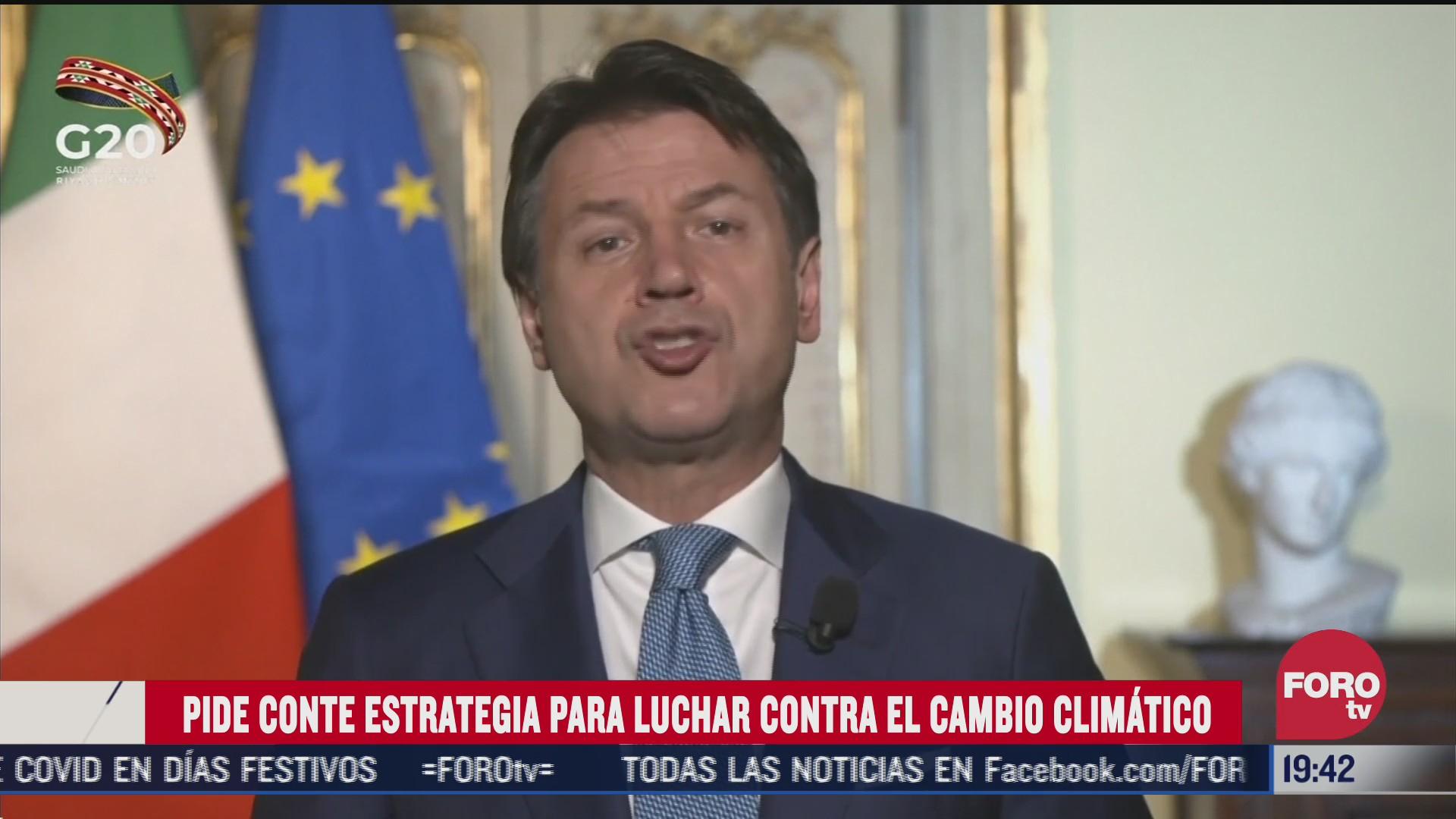 g20 discute para contrarrestar el cambio climatico
