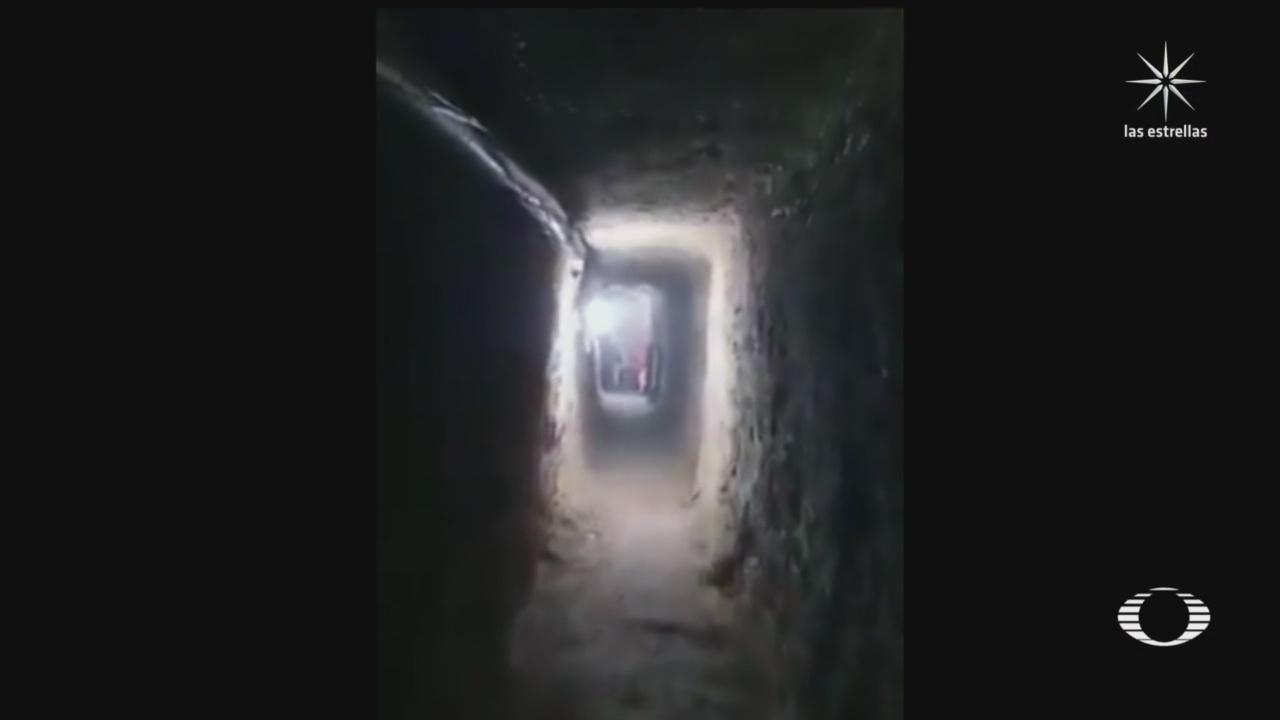 Túnel construido para robar bóveda de valores en Celaya