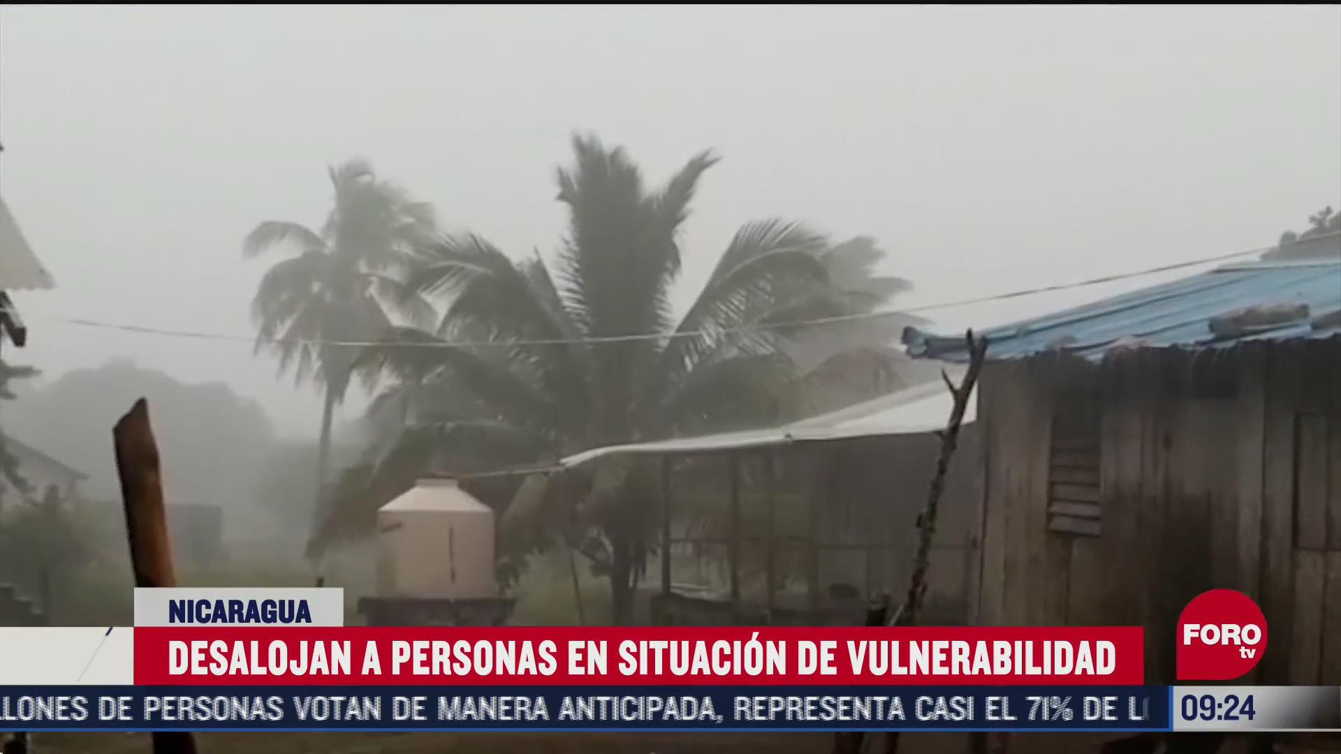 huracan eta golpea con fuerza nicaragua