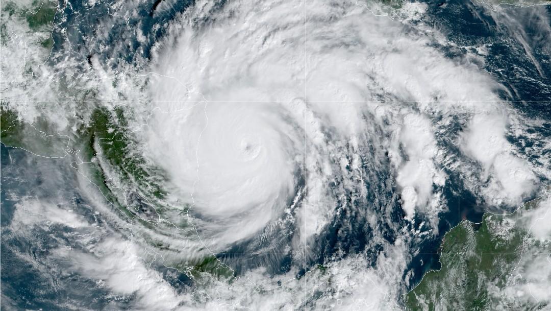 Huracán Iota se intensifica a categoría 5, la máxima en escala Saffir Simpson