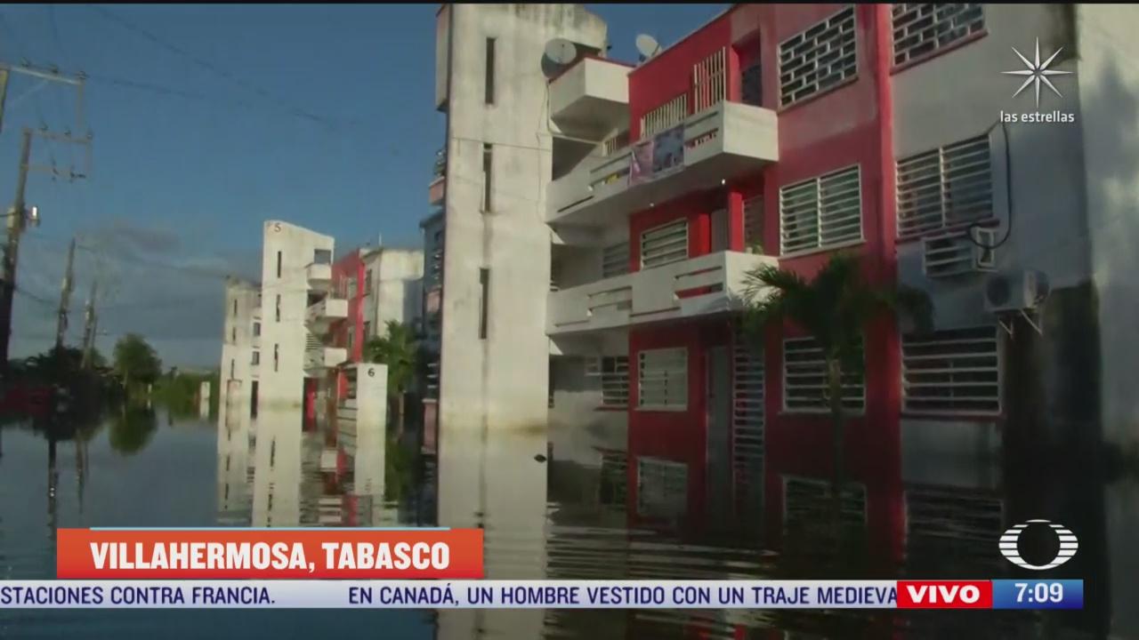 inundaciones afectan de cientos de personas en villahermosa tabasco