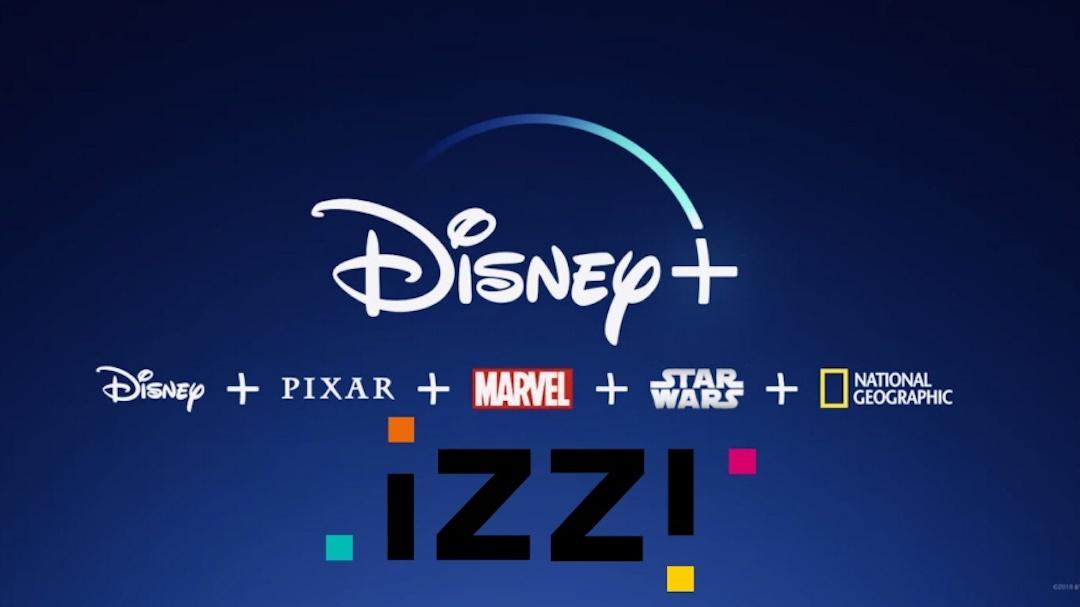 Disney+ Izzi TV Streaming Imagen