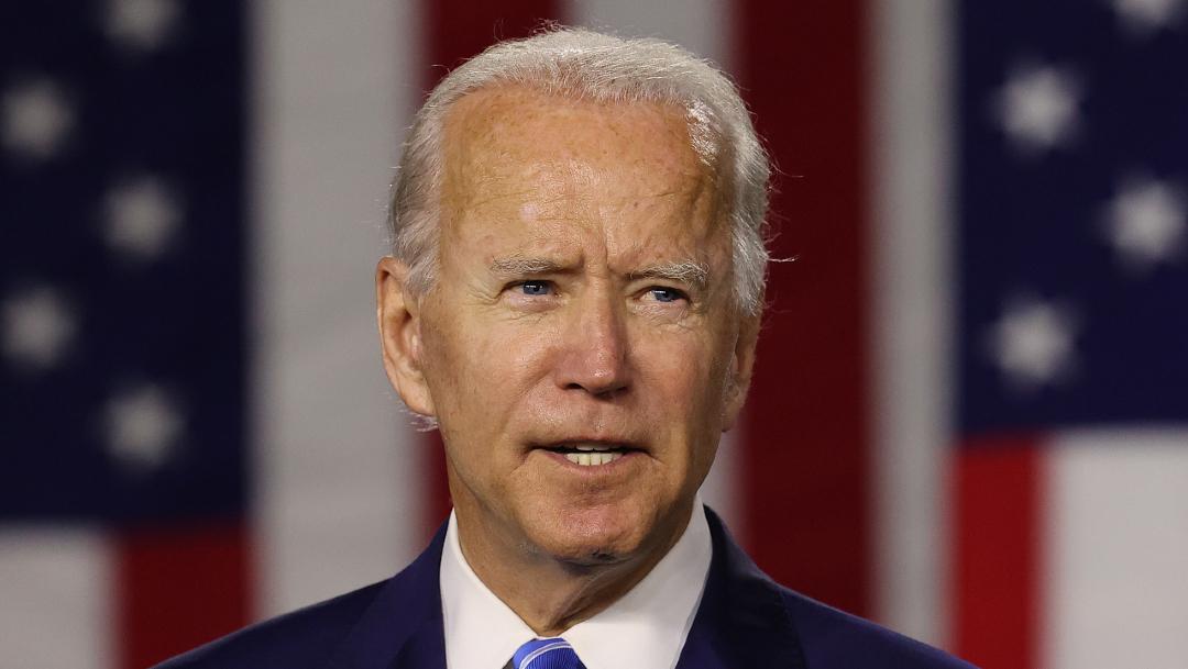 Fotografía que muestra al presidente electo de EEUU, Joe Biden