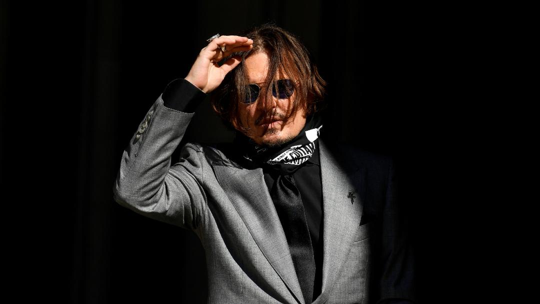 Johnny Depp pierde juicio contra The Sun que lo presentó como un marido violento