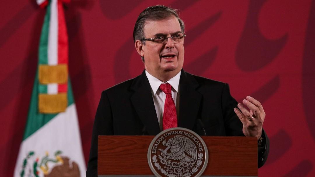 Marcelo Ebrard, secretario de Relaciones Exteriores