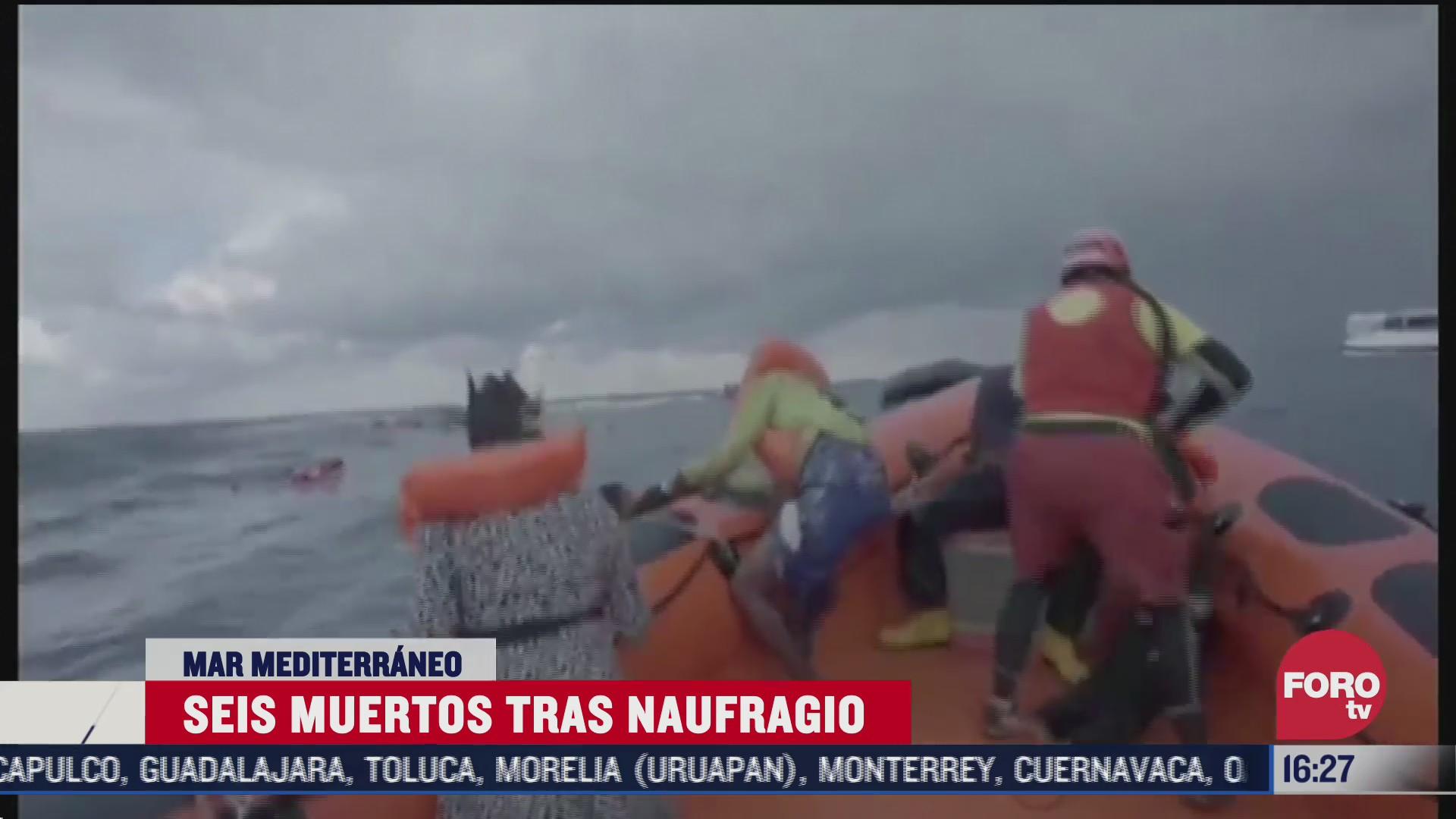 muere bebe y otras cinco personas tras naufragio