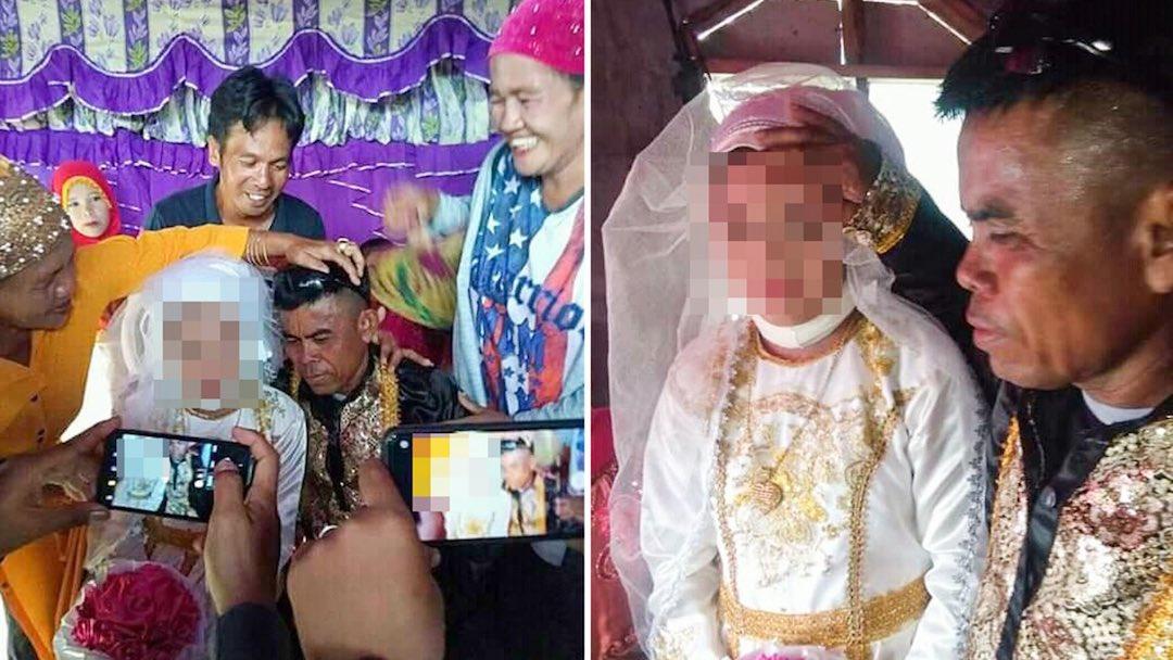 Niña Obligada Casarse Hombre 48 Años