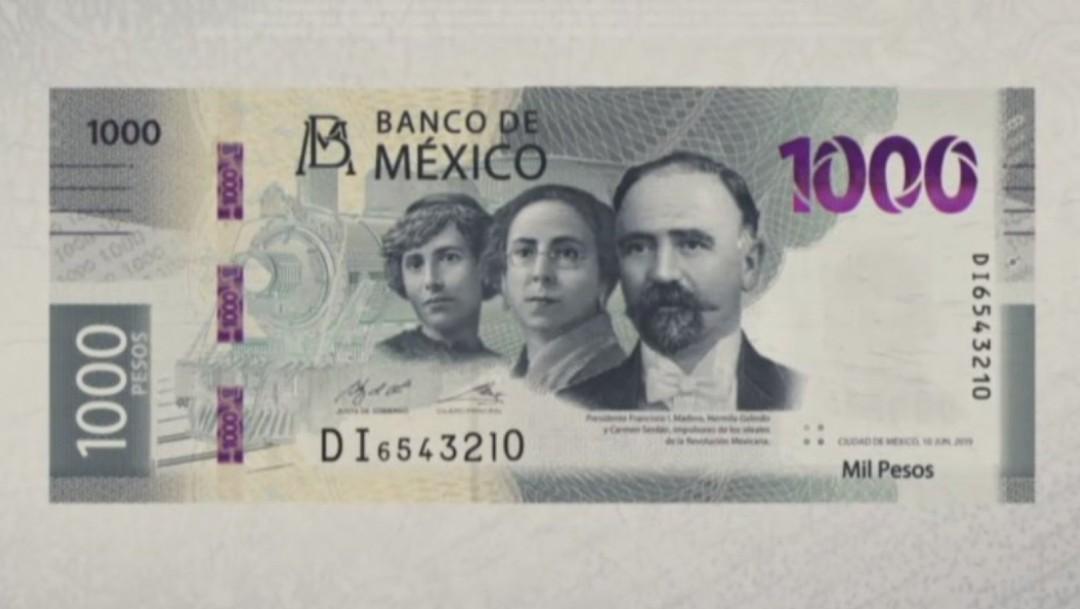 Nuevo billete de mil pesos, Banxico