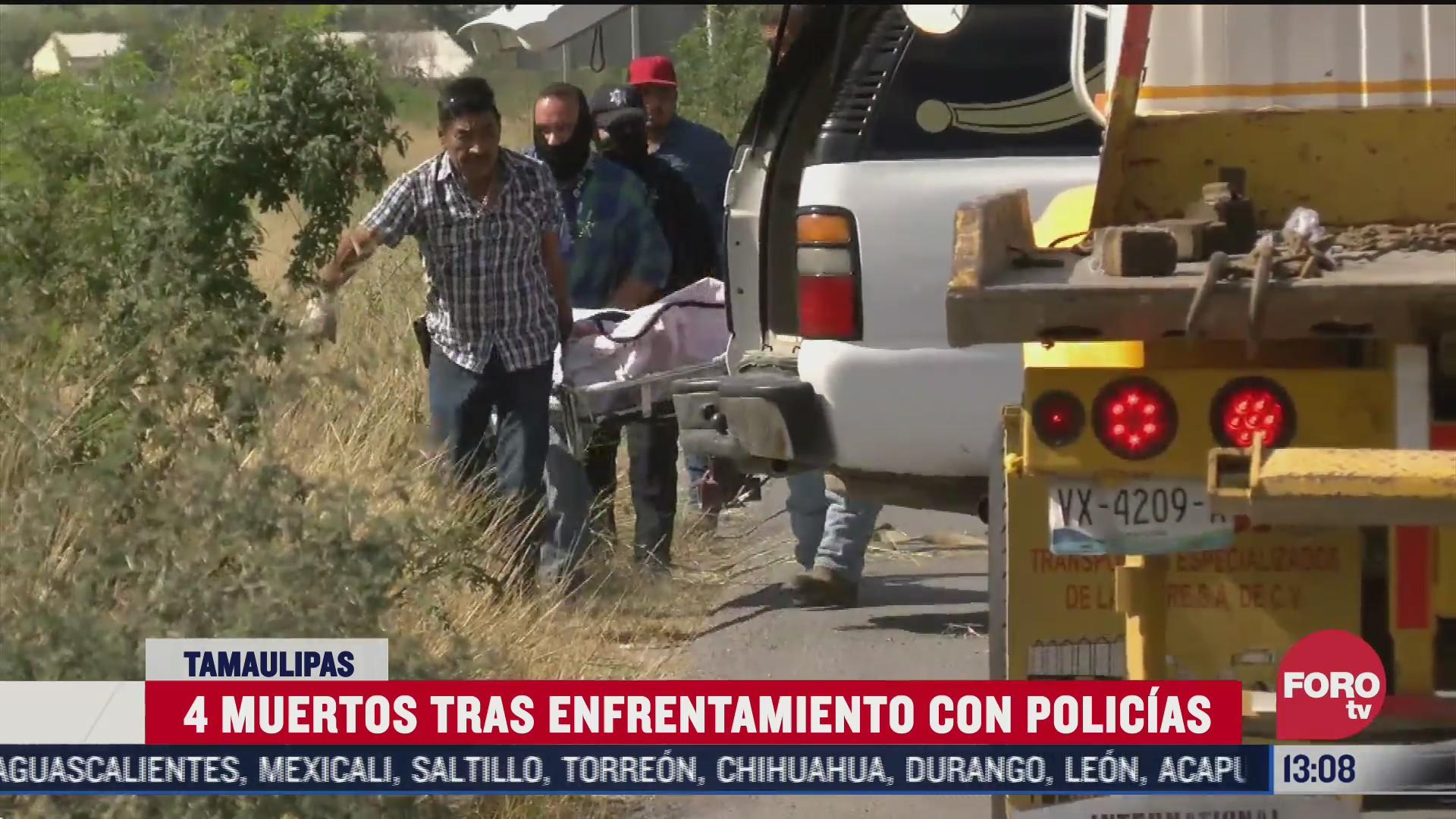 policias y ladrones se enfrentan en tamaulipas