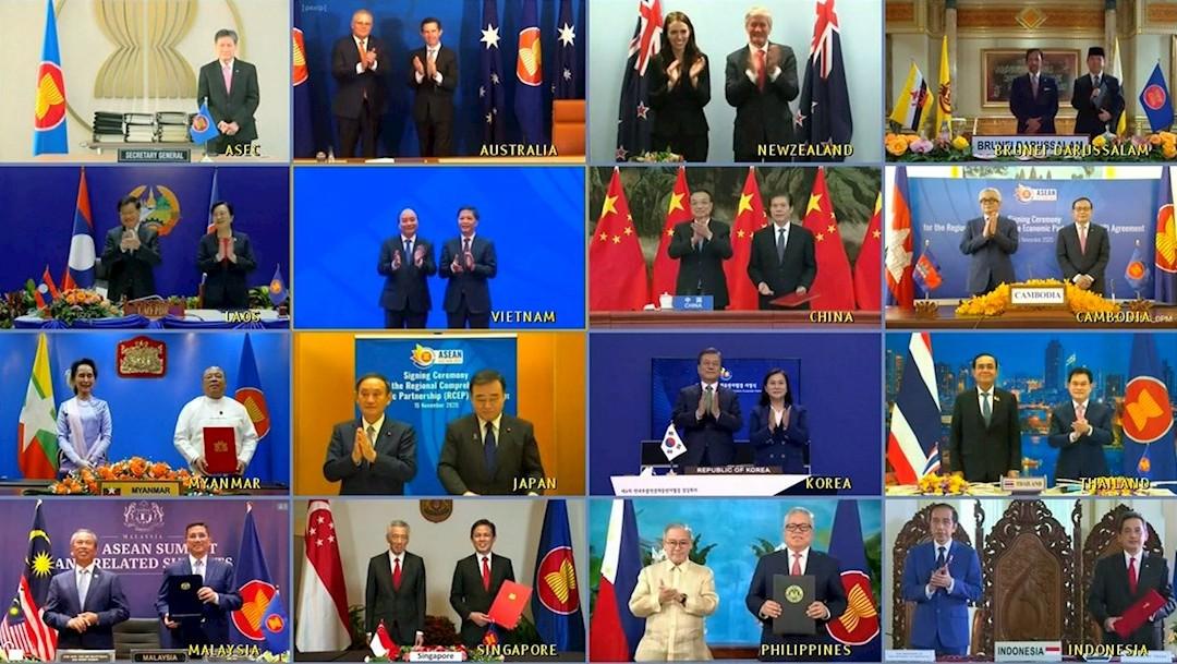 Quince países de Asia-Pacífico firman el mayor tratado de libre comercio del mundo