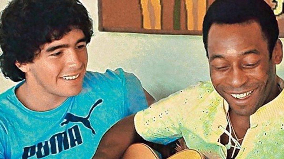Reacciones Muerte Maradona Pelé Foto