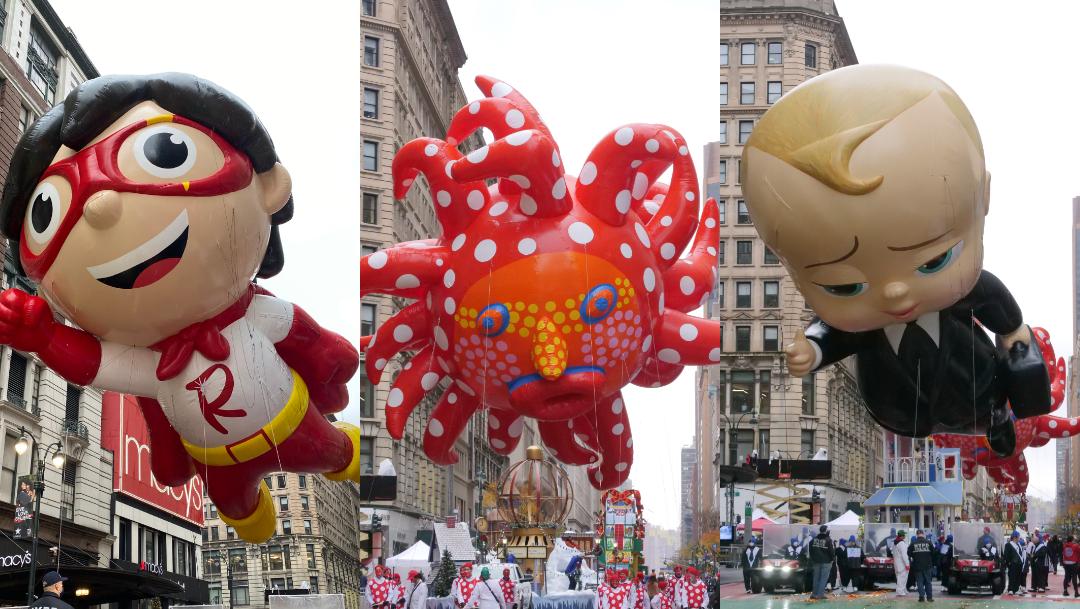 Fotos: Los mejores globos del Desfile de Acción de Gracias