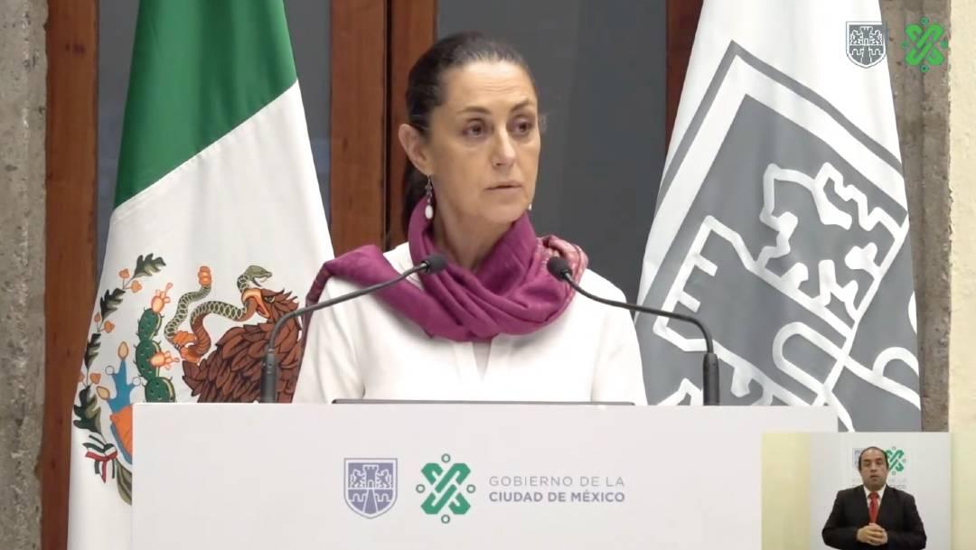 Claudia Sheinbaum presentó el informe anual de acciones contra la violencia de género en la Ciudad de México