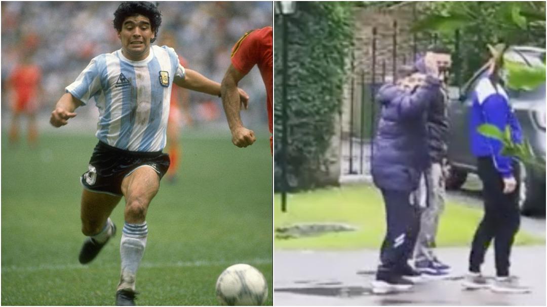 Último Video Diego Armando Maradona