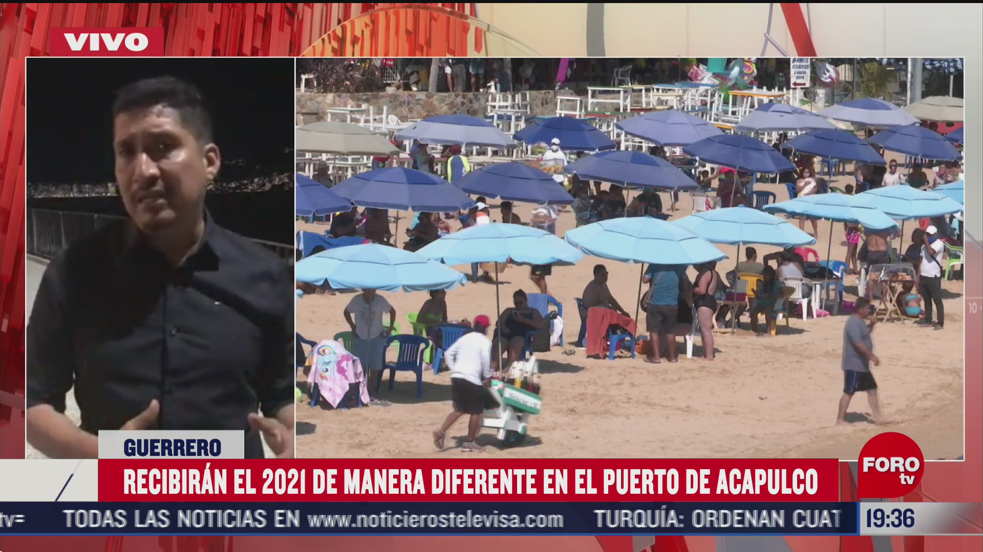 2021 llegara a acapulco sin gala pirotecnica