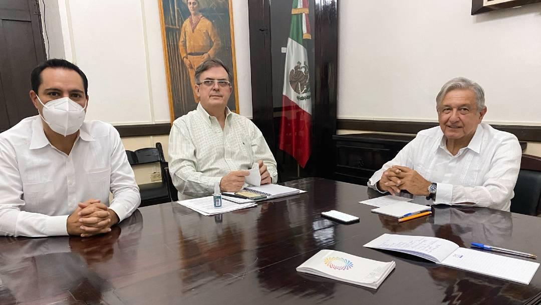 El presidente López Obrador confirmó un primer acercamiento con el presidente electo de EEUU, Joe Biden