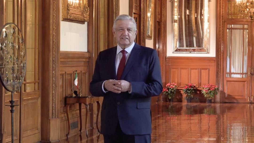 El presidente López Obrador anunció un convenio de colaboración con la Fundación Teletón