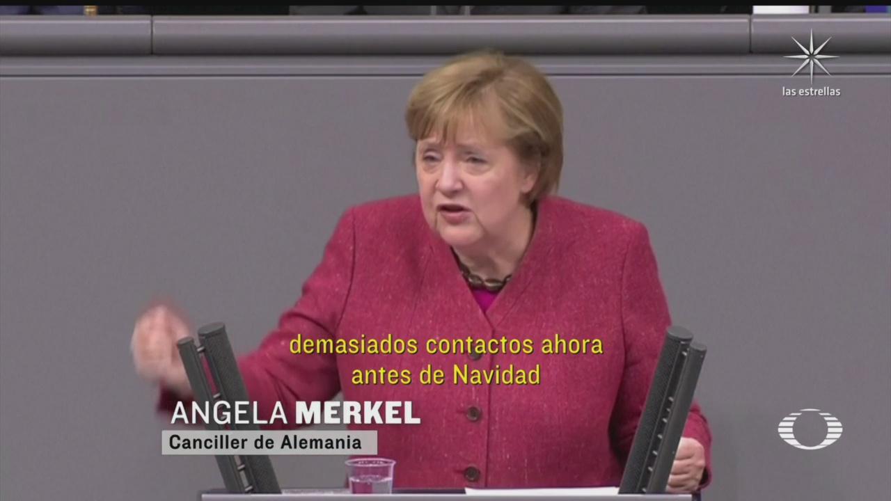 angela merkel pide a alemanes endurecer medidas sanitarias