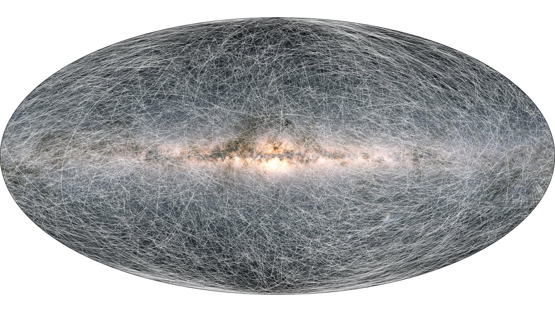 Astrónomos de la ESA crean mapa de la galaxia más detallado hasta la actualidad