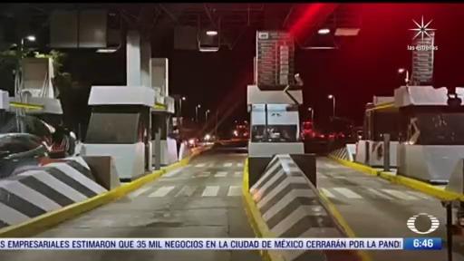 autoridades recupera seis casetas de peaje tomadas en sinaloa
